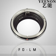 YEENON Canon FD Lens to Leica M LM Mount Adapter Macular linkage can not focus
