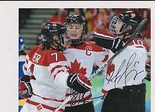 Haley Wickenheiser/Gillian Apps Team Canada Women's Hockey Autographed Photo
