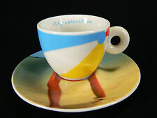 Rosenthal Illy Collection 2002 Espressogedeck Design Marina Ibramovic (F)