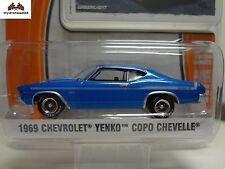Greenlight 1969 Chevrolet YENKO COPO Chevelle Blue - GL Muscle R10 1:64