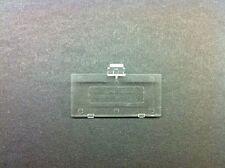 10 LOT of  TRANSPARENT SEE THRU CLEAR GAME BOY POCKET REPLACEMENT BATTERY COVERS
