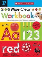 Wipe Clean Workbooks, Pre-K by Inc. Staff Scholastic (2015, Board Book)