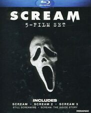 Scream: 5 Film Set [4 Discs] Blu-ray Region A BLU-RAY/WS
