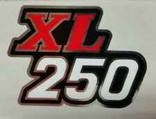 HONDA XL250 EXHAUST HEAT SHIELD DECAL