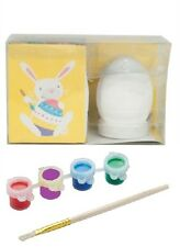 Easter 6 Piece PAINT YOUR OWN EGG Kit Craft Art Kids Decoration