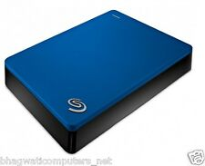 Seagate 4TB Backup Plus Portable USB 3.0 Hard Disk Drive 4 TB STDR4000302 Blue