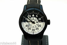 FORTIS B-42 FLIEGER BLACK COCKPIT GMT 672.18.147  N.O.S. Limited ed.  #233/2012