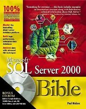 Microsoft SQL Server 2000 Bible with CD-ROM-ExLibrary