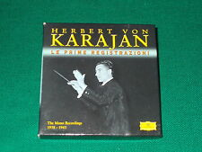 Le Prime Registrazioni di Karajan  box 6 cd