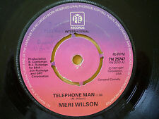 MERI WILSON = TELEPHONE MAN / ITINERARY - PYE RECORDS 1977 - EXCELLENT VINYL