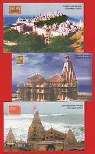 [R 223] PICTURE POST CARD 3 DIFF PALITANA JAIN TEMPLE SOMNATH DWARKADHEESH