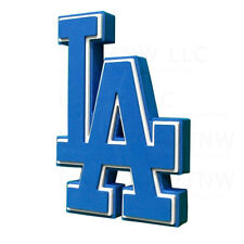 New MLB Los Angeles Dodgers 3D Fan Foam Logo Holding Wall Sign Made in USA