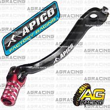 Apico Black Red Gear Pedal Lever Shifter For Honda CRF 250R 2011 Motocross MX