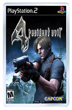 RESIDENT EVIL 4 PS2 FRIDGE MAGNET IMAN NEVERA