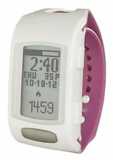 LifeTrak Zone-C410w Fitness Tracker & Health Tool in Arctic White / Orchid