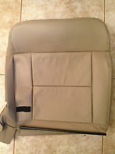 2004-2006 Ford F-150 Factory Original REAR UPPER Seat Cover (Tan Leather)