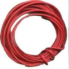 10 Ft. 24 Gauge Red Wire for HO Gauge Scale TRAINS