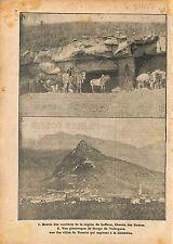 Carrières de Laffaux Chemin des Dames/Borgo de Valsugana  WWI 1917 ILLUSTRATION