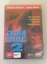 Crash Dive 2 (Michael Dudikoff) DVD in EXCELLENT condition (All Region PAL)
