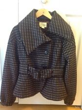 Women's Brown Coat Size Small Latte By COFFEE SHOP