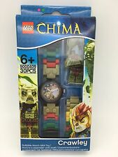 LEGO Legends of Chima Crawley With Mini-Figure Link Kids Watch 9000409 NEW!