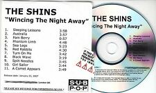 THE SHINS Wincing The Night Away 2007 UK numbered 11-track promo test CD