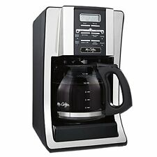 Mr. Coffee BVMC-SJX33GT 12-Cup Programmable Coffeemaker, Chrome