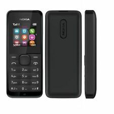 Brand New Nokia 105 - Black (Unlocked) Mobile Phone FULLY UNLOCKED UK SELLER