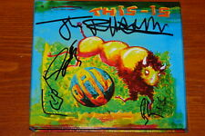 THIS IS PIL PUBLIC IMAGE LIMITED SIGNED UK CD SEX PISTOLS UACC REGISTERED DEALER