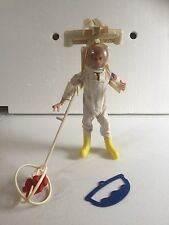 Vintage G.I. Joe Flying Space Adventure set with blond G.I. Joe Astronaut.