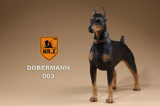 """Mr.Z Animal Series Doberman Pinscher Dogs 1/6 Fit for 12"""" action figure"""