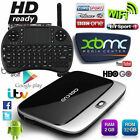 32GB Fully Loaded WIFI 1080P Media Quad Core Android 4.4 TV smart BOX / Keyboard