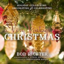 FREE 2 DAY SHIPPING | A Very Vintage Christmas: Holiday Collecting, D, HARDCOVER