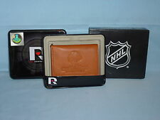 CHICAGO BLACKHAWKS 2015 Stanley Cup CHAMPS  Leather TriFold Wallet   NIB   brown