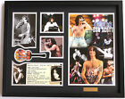 New AC DC Bon Scott Signed Limited Edition Memorabilia Framed