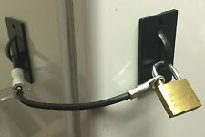 Refrigerator-Mini Fridge-Kegerator Lock Black