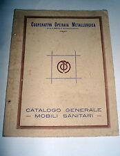cooperativa operaia metallurgica catalogo generale mobili sanitari