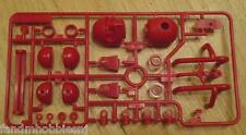 NEW TAMIYA Wild One G Part Tree Red Components - Driver Head Ect. Item 9000368