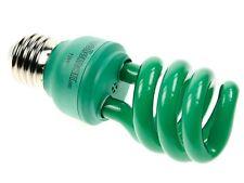 AMPOULE LAMPE VERTE FLUO COMPACTE SPIRALE E27 13W 230V