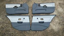 BMW E36 95-97 318i 325i 328i M3 Dove Grey Gray door panels set of 4 front rear