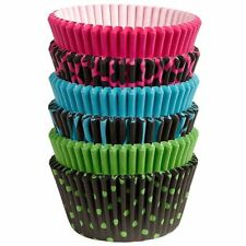 Wilton Neon Darks Collection of Baking Cups, 150 Ct. Teenager Party Cupcake Pink