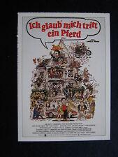 Filmplakatkarte cinema   Ich glaub mich tritt ein Pferd    John Belushi