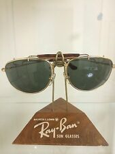 Vintage Ray Ban Bausch And Lomb Bravura W1708 Olympics Sunglasses