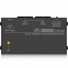 Behringer PS400 micropower ultra compact phantom power supply