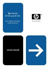 HP LaserJet 8100 / 8150 Series Service Manual(Parts & Diagrams)