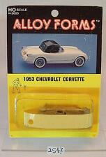 Alloy Forms 1/87 H0 Metal Kit 2025 1953 Chevrolet Corvette OVP #2547