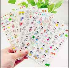 6sheet child  painting   Murmuring Diary calendar Filofax Notebook Deco Sticker