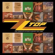 The  Complete Studio Albums 1970-1990 by ZZ Top (CD, Jun-2013, 10 Discs,...