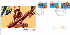 1990 Sports Series II (27 Aug) FDC - GPO Brisbane Qld 4000 PMK