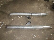 2002 triumph america exhaust mufflers left right